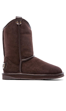 Australia Luxe Collective Cowboy Boot with Sheep Shearling in Beva