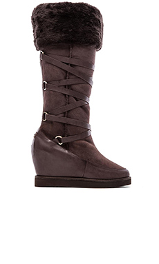 Australia Luxe Collective Moscow Extra Tall Wedge Boot in Beva