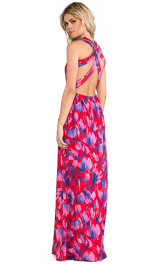 Lovers + Friends Kitty Cat Maxi Dress in Floral