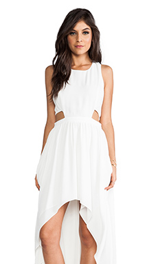 Lovers + Friends Foxy Dress in White