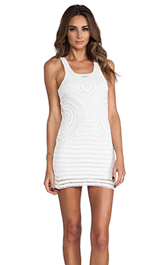 Lovers + Friends Cove Dress in White