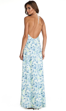 Lovers + Friends Mahalo Maxi Dress in Abstract Floral