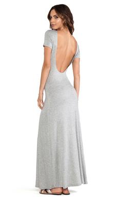 Lovers + Friends Vanity Fair Dress in Heather Grey