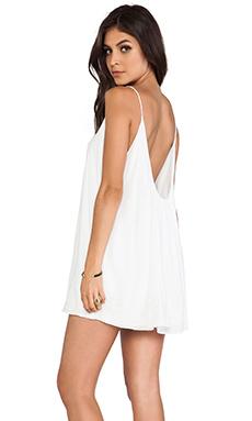 Lovers + Friends Fly Away Mini Dress in White