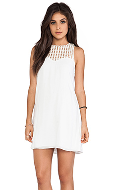 Lovers + Friends Plumeria Dress in White