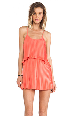 Lovers + Friends Sunkissed Dress in Coral
