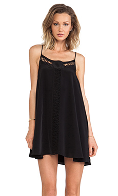 Lovers + Friends Hagar Mini Dress in Black