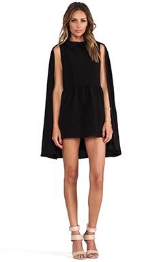 Lovers + Friends x Monica Rose Rhodes Dress & Cape in Black