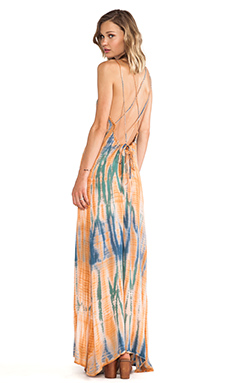 Lovers + Friends Golden Light Maxi in Tie Dye