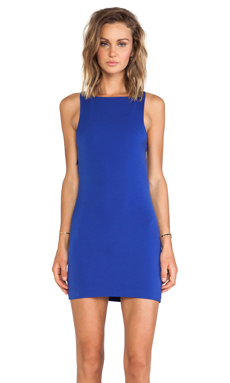 Lovers + Friends Martini Dress in Royal Blue