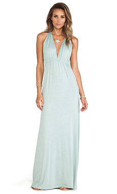 Lovers + Friends Tristan Maxi Dress in Seafoam