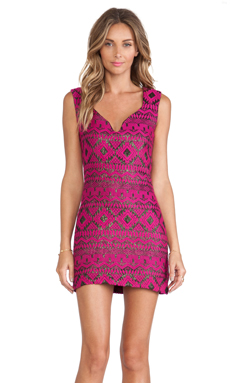 Lovers + Friends Raven Dress in Tribal