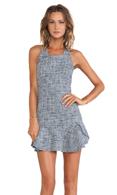 Lovers + Friends Morning Light Dress in Navy