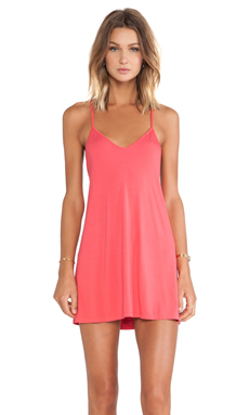 Lovers + Friends Early Riser Dress in Coral