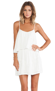 Lovers + Friends Paradise Bay Dress in Ivory