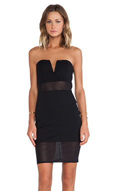 Lovers + Friends Sapphire Dress in Black