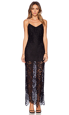 Lovers + Friends Reflection Maxi Dress in Black