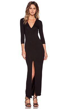 Lovers + Friends Daring Maxi Dress in Black