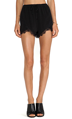 Lovers + Friends Young Romance Short in Black