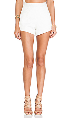 Lovers + Friends Fashionista Aztec Jacquard Short in Ivory