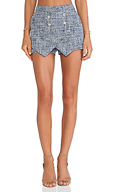 Lovers + Friends Harbor Skort in Navy