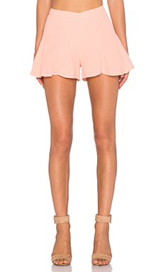 Lovers + Friends Oasis Skort in Pach Daquiri