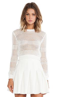 Lovers + Friends Vanilla Sky Sweater in Ivory