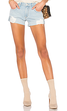 Lovers + Friends Dylan Slouchy Boyfriend Short in Laurel