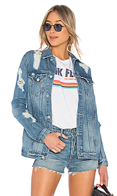 Lovers + Friends x REVOLVE James Denim Jacket in Huntley