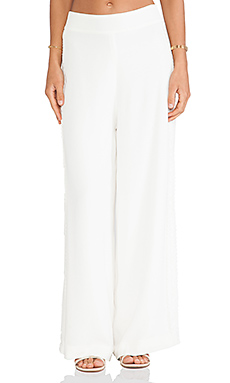 Lovers + Friends Willow Pants in Ivory