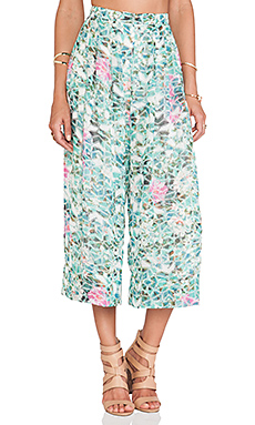 Lovers + Friends Cannes Gaucho Pants in Island Hop