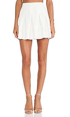 Lovers + Friends High Tide Skirt in Ivory