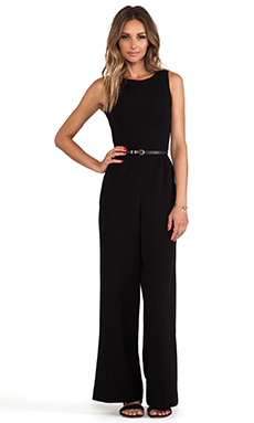 Lovers + Friends x Monica Rose Brighton Jumpsuit in Black