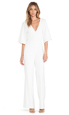 Lovers + Friends Star Gazer Jumpsuit in Ivory