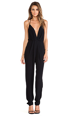 Lovers + Friends My Way Jumpsuit in Black
