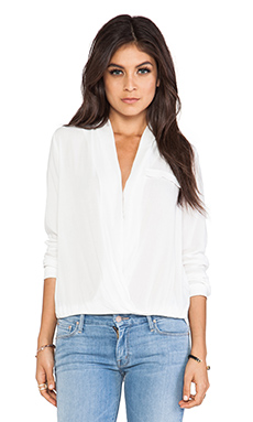 Lovers + Friends Get Down Blouse in White