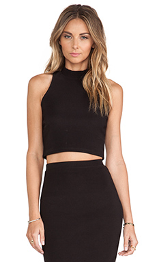 Lovers + Friends Cory Top in Black