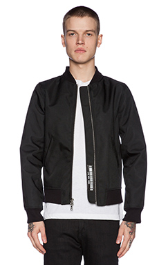 LPD New York Bulletproof Bomber Jacket in Black