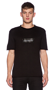 LPD New York Short Sleeve Tee in Black