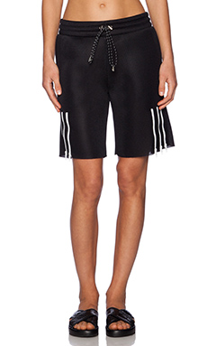 LPD New York x Adidas 6 Zipper Shorts in Black
