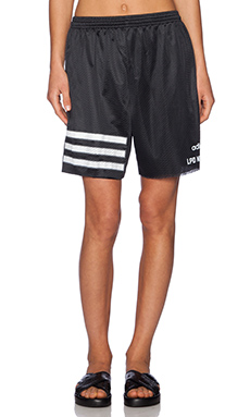 LPD New York x Adidas 3 Stripe Shorts in Black