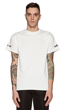 LPD New York x Adidas Basketball Tee in White