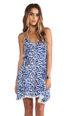 Love Sam Kala Dress in Mykonos Print