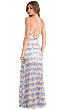 L*SPACE Sunchaser Maxi Dress in Multi