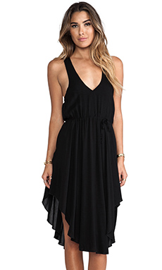 L*SPACE Stevie Halter Dress in Black