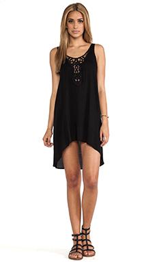 L*SPACE Off Shore Dress in Black