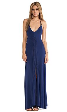 L*SPACE Magnolia Maxi Dress in Indigo