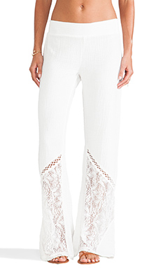 L*SPACE Boardwalk Pant in Ivory