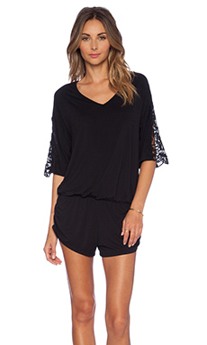 L*SPACE Mali Romper in Black