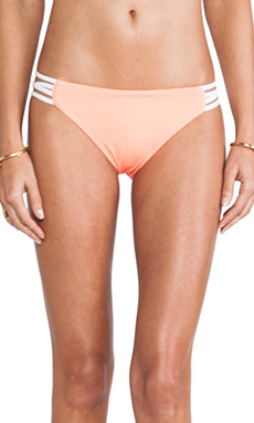 L*SPACE Low Down Bottom in Electric Coral